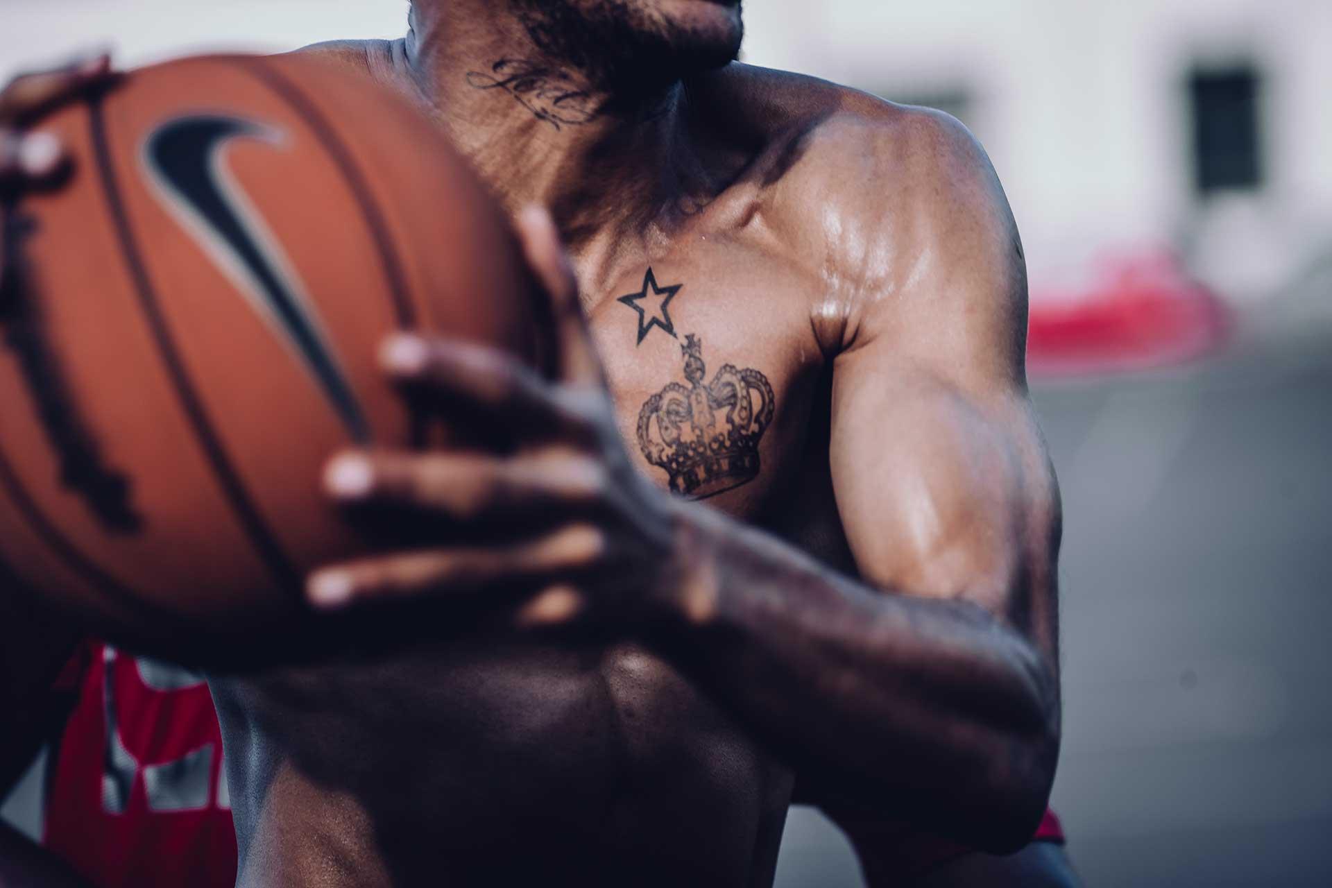 Basketballplatz Court Teamsport Training Fotograf Michael Müller Schweiz