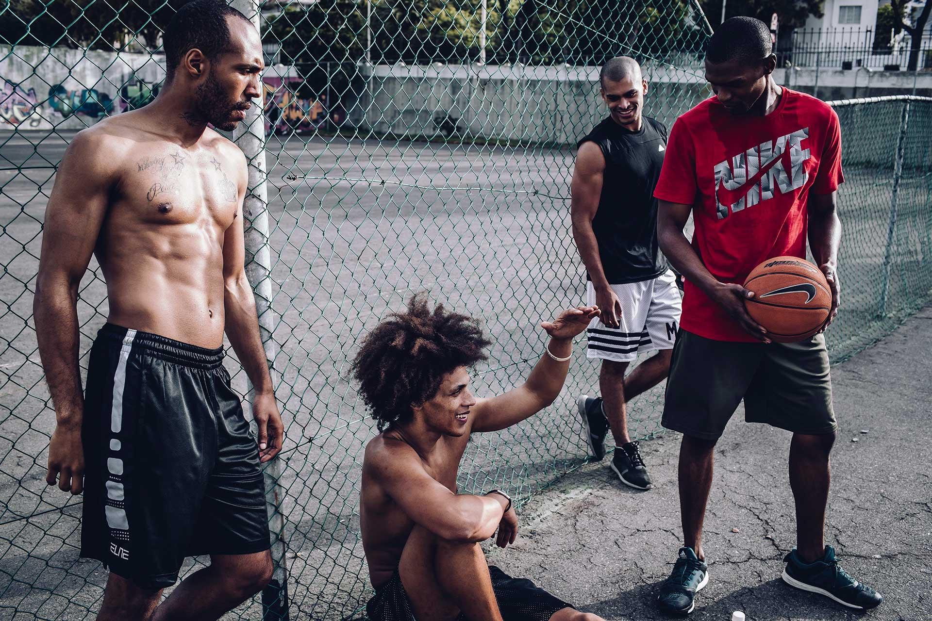 Fotograf Michael Müller Basketball Outdoor Training New York