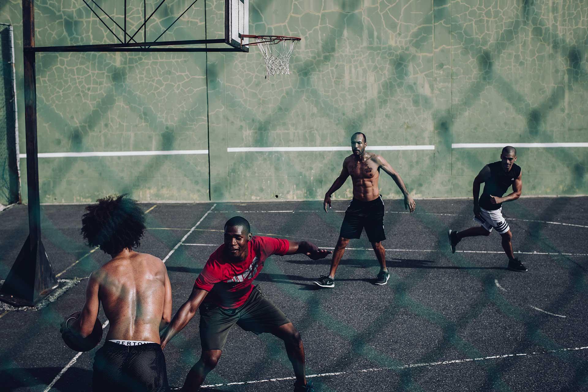 Basketball Spieler Teamsport Model Fotograf Südafrika