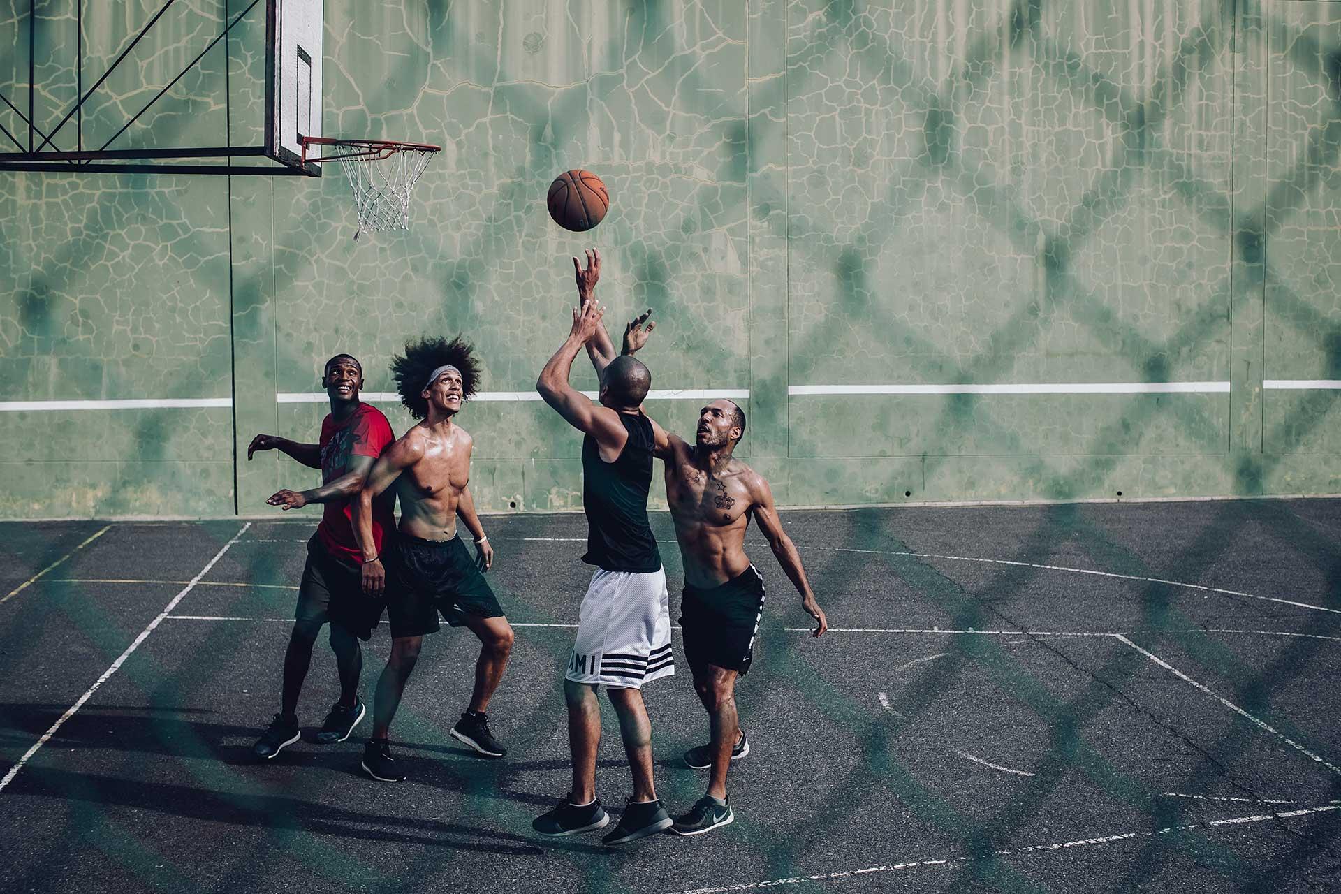Teamsport Fotograf Michael Müller Basketball Fotoproduktion