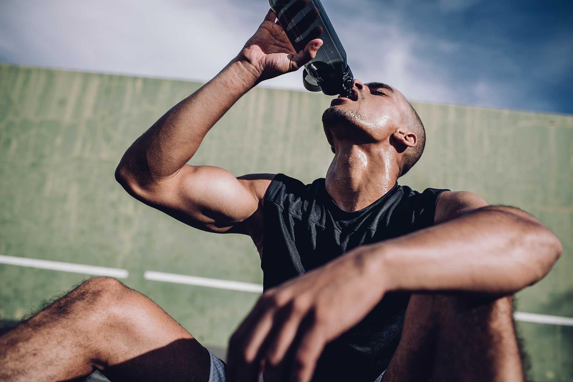 Basketball Spieler Sport Sportbekleidung Fotograf Kapstadt Trinkflasche