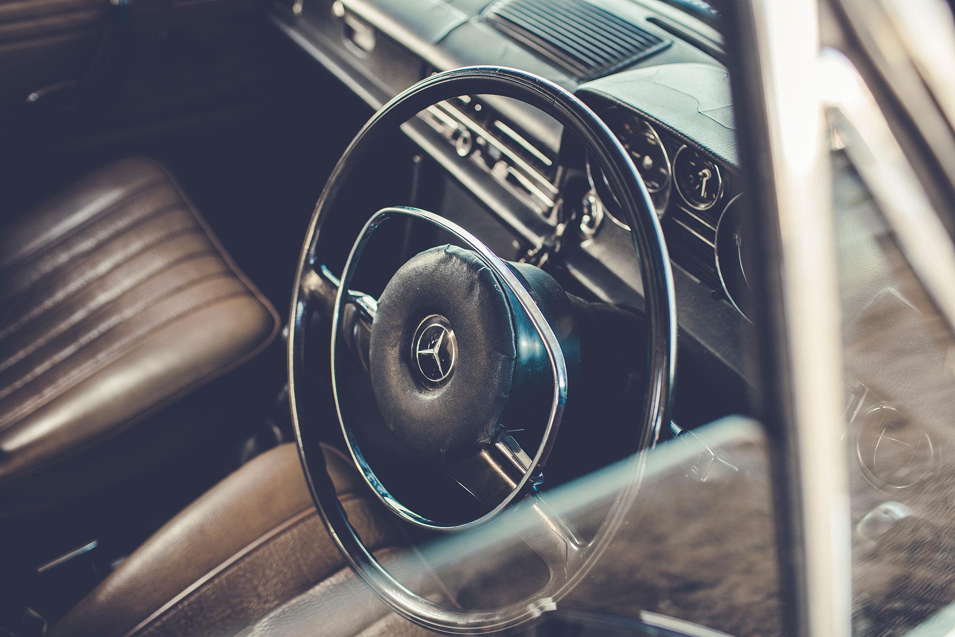 Detail Auto Mercedes Benz Automotive Fotograf Michael Müller München Deutschland