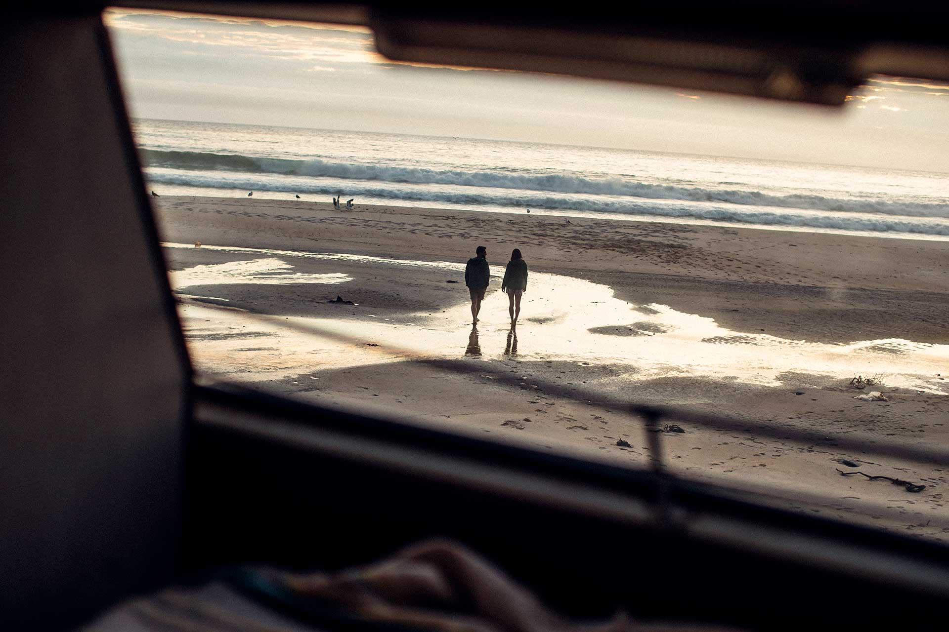 Sonnenuntergang Strand Meer Landschaft Südafrika Kapstadt Lifestyle Fotograf