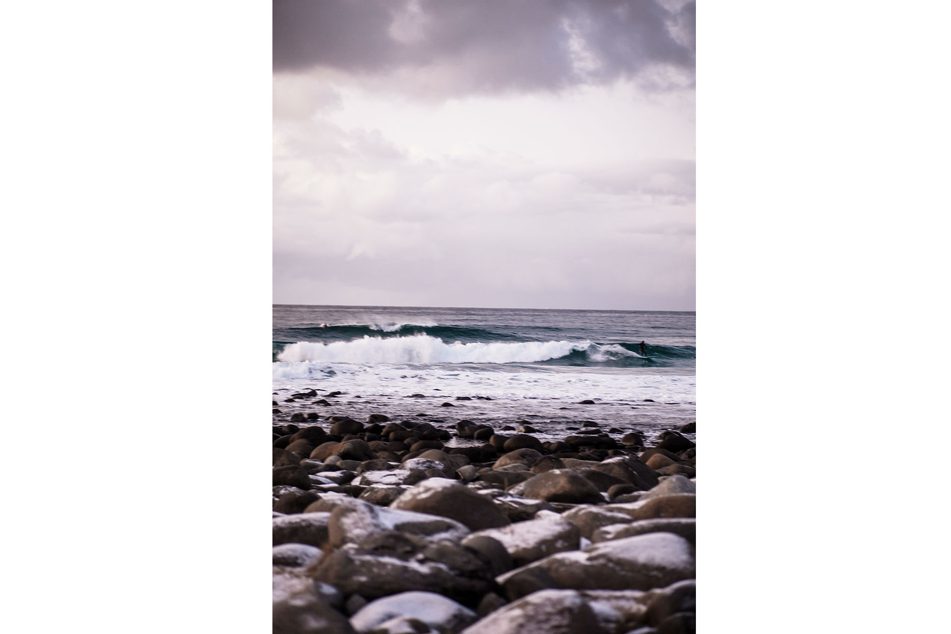 Wellen Arktis Surfen Reisen Landschaft Fotograf Sport Norwegen Michael Müller
