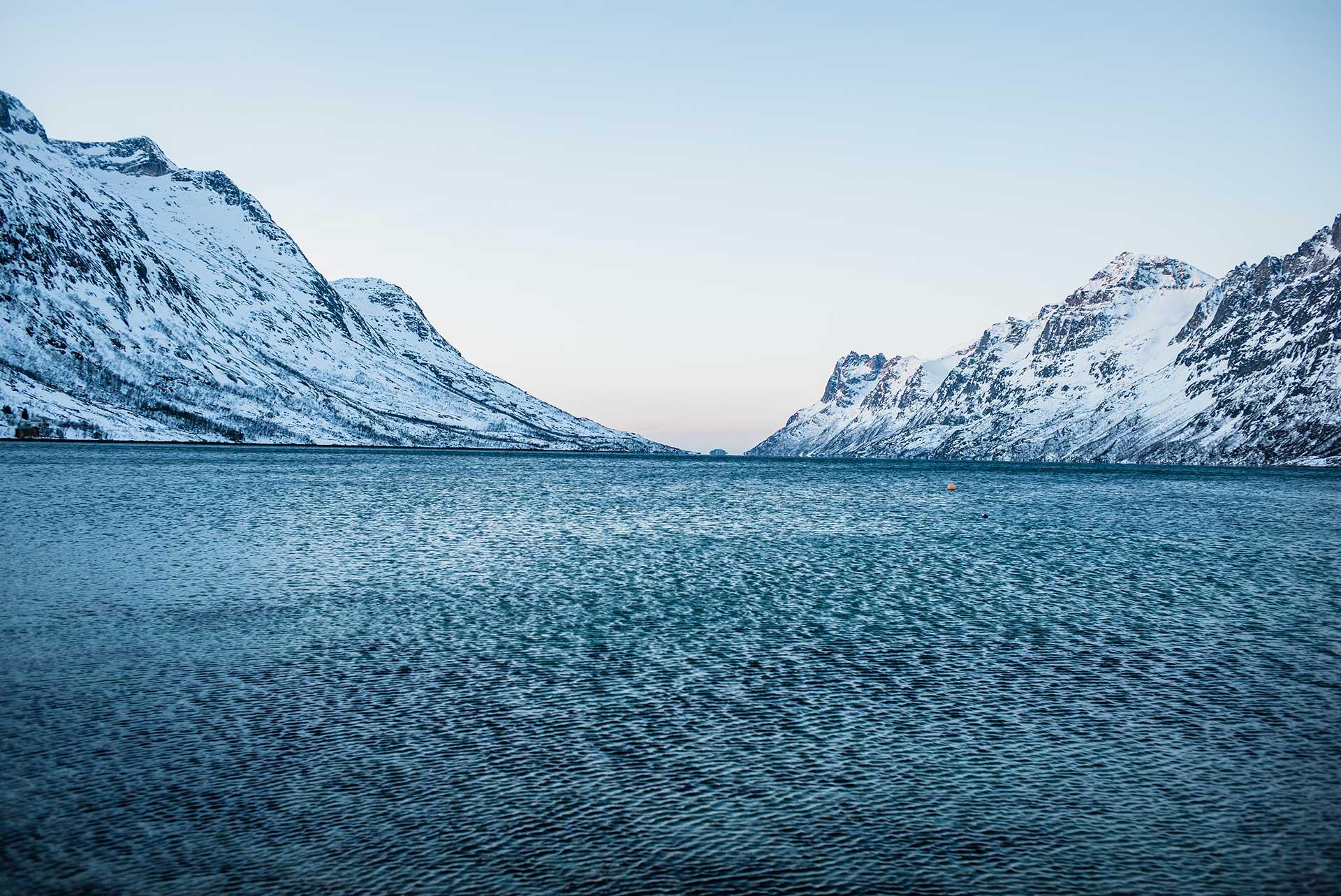Winter Landschaft Norwegen Fotograf Fjord