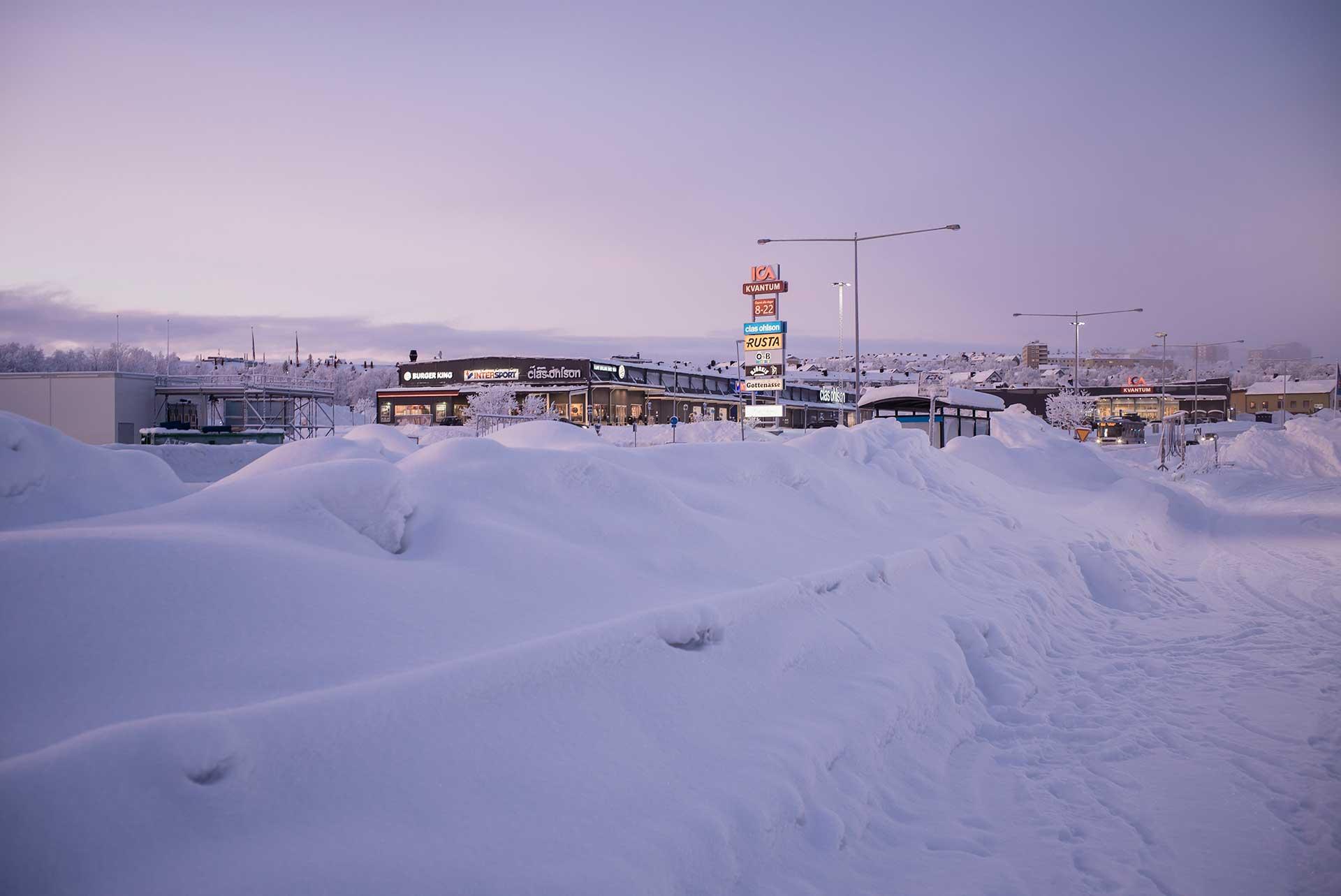 Landschaft Dämmerung Winter Fotograf Michael Müller