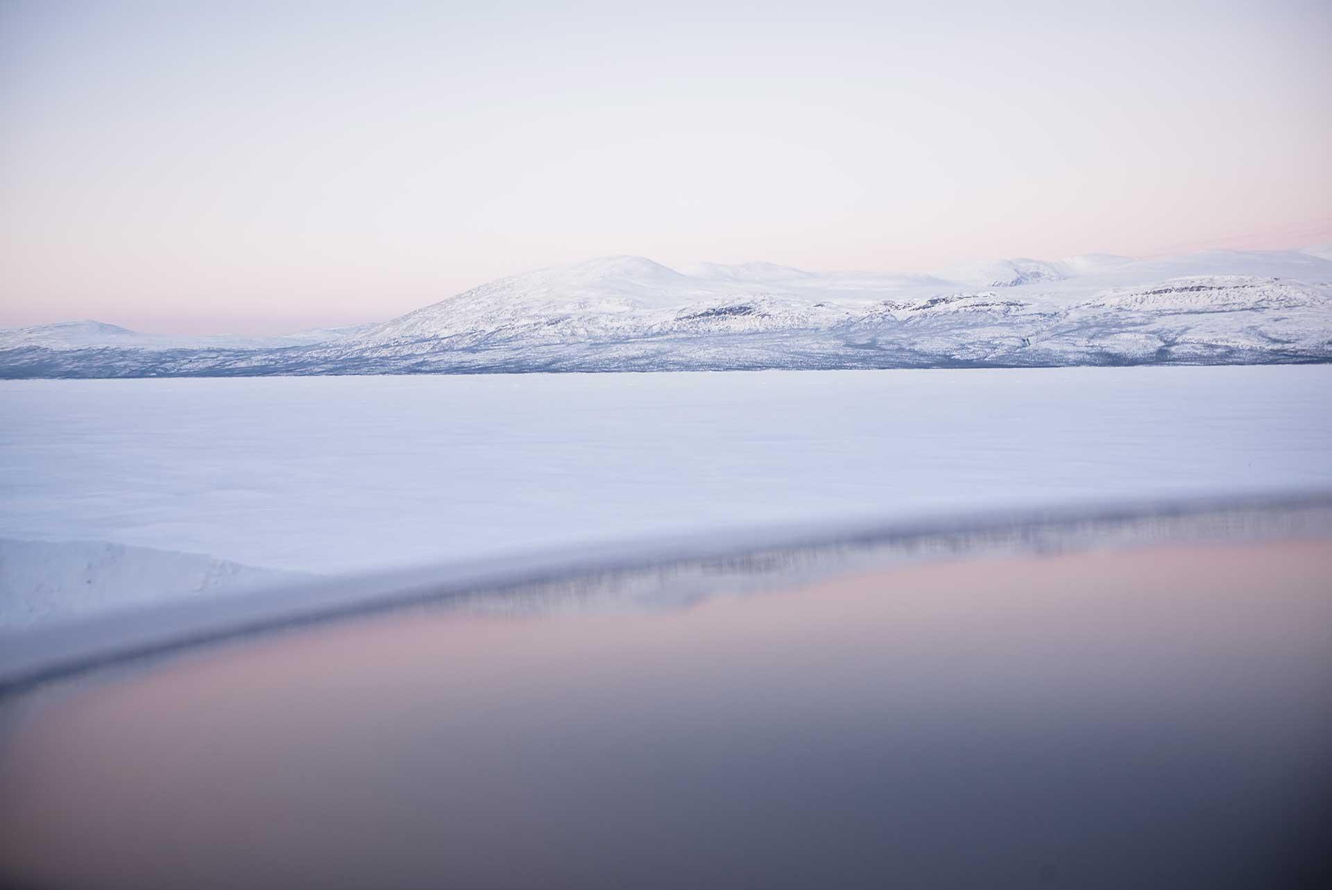 Panorama Landschaft Spiegelung Reisen Fotografie Norwegen Volvo