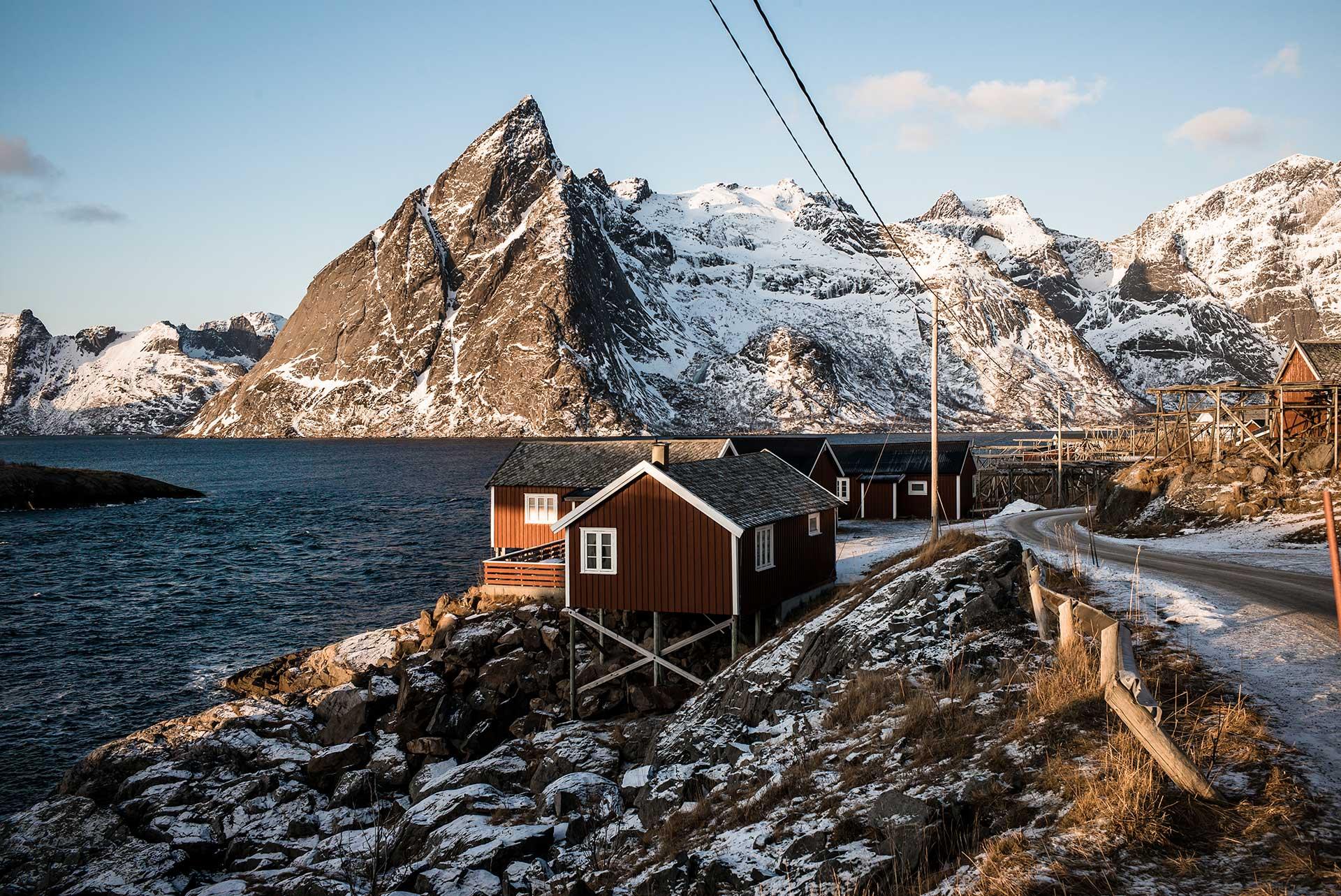 Fotograf Landschaft Lofoten Norwegen Fotoproduktion Michael Müller