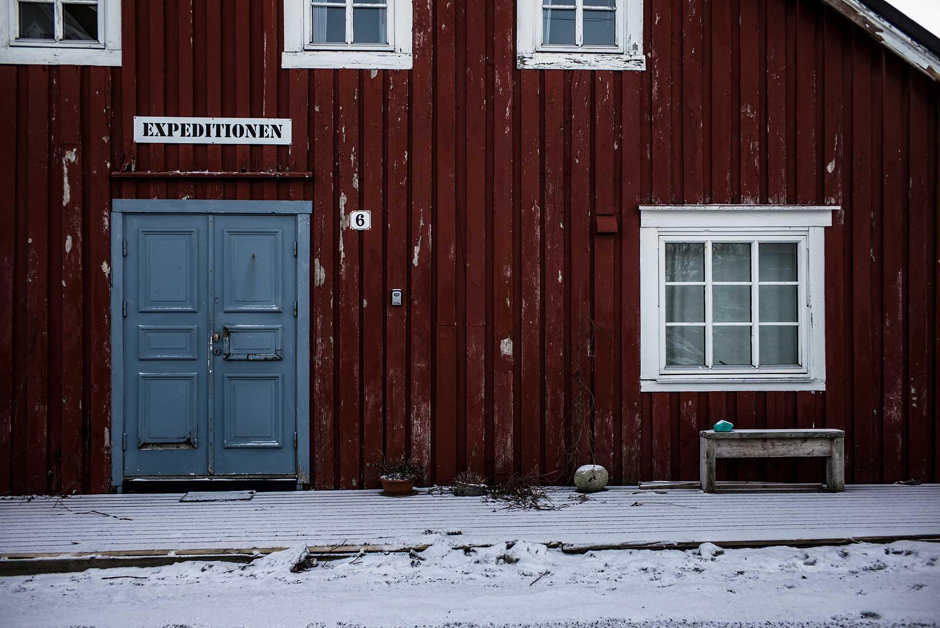 Hütte Winter Reisen Lifestyle Norwegen Fotograf