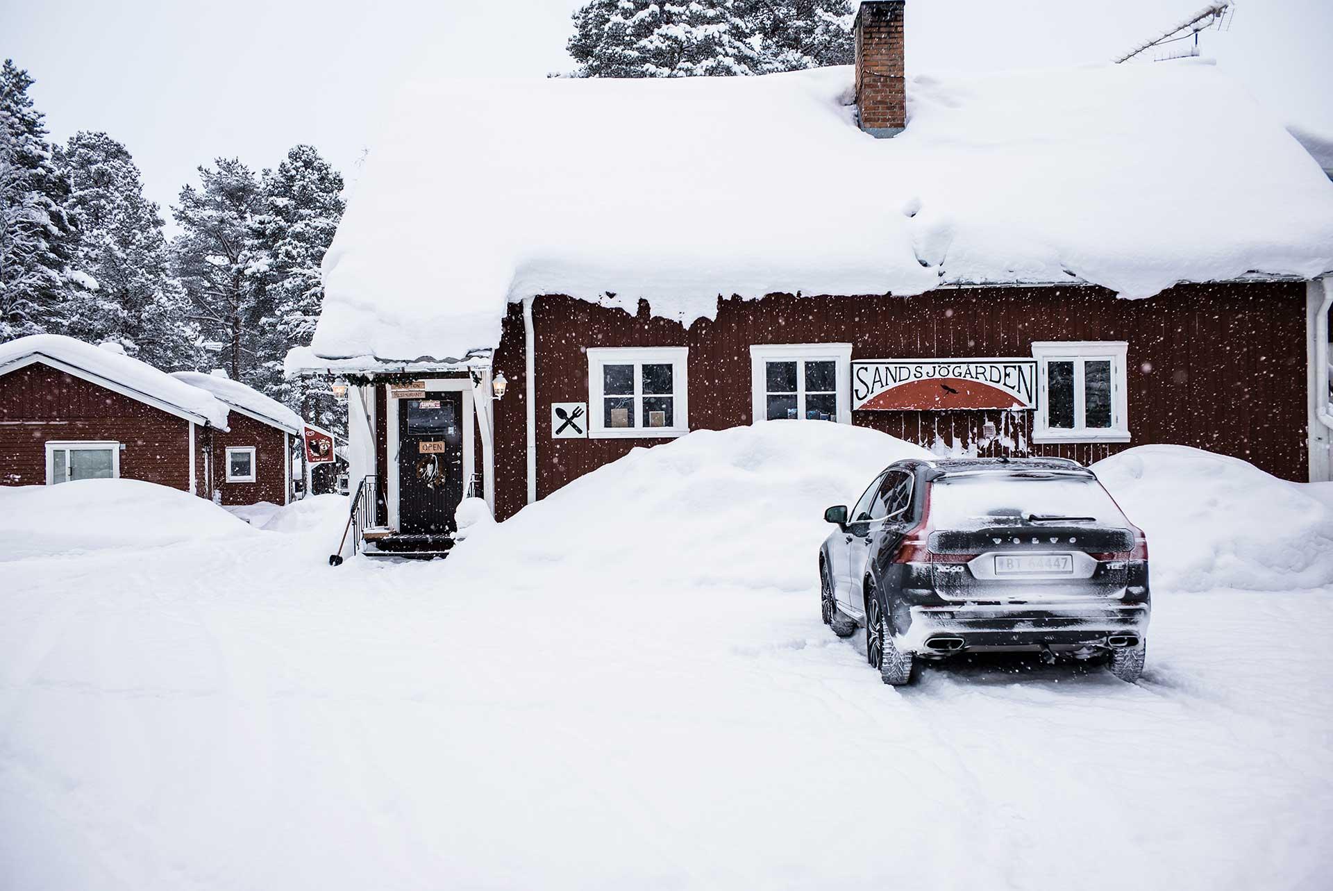 Winter Schnee Automotive Volvo Fotograf Michael Müller Schweden