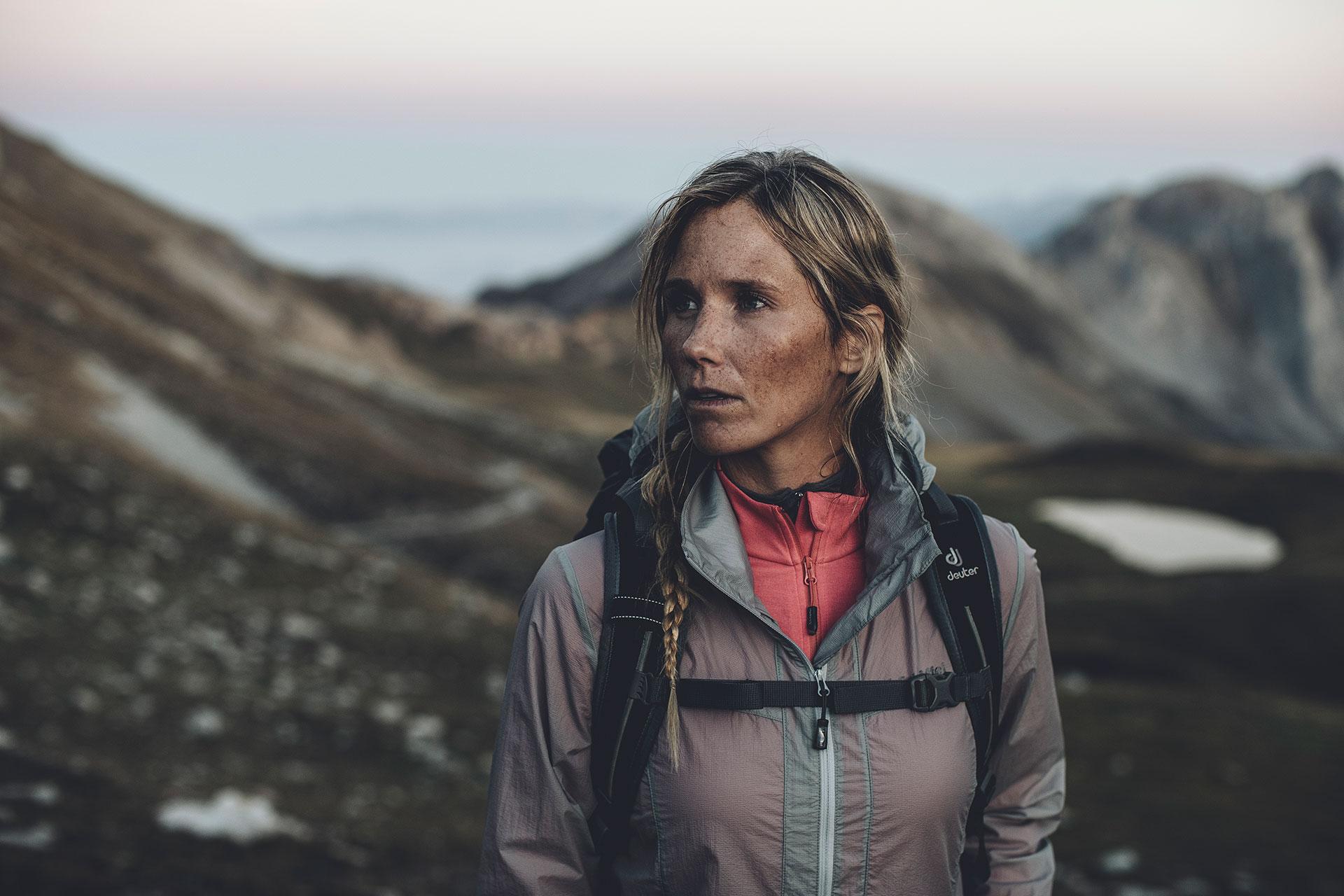 potrait wandern fotograf wandern bergsteigen trekking deutschland alpen