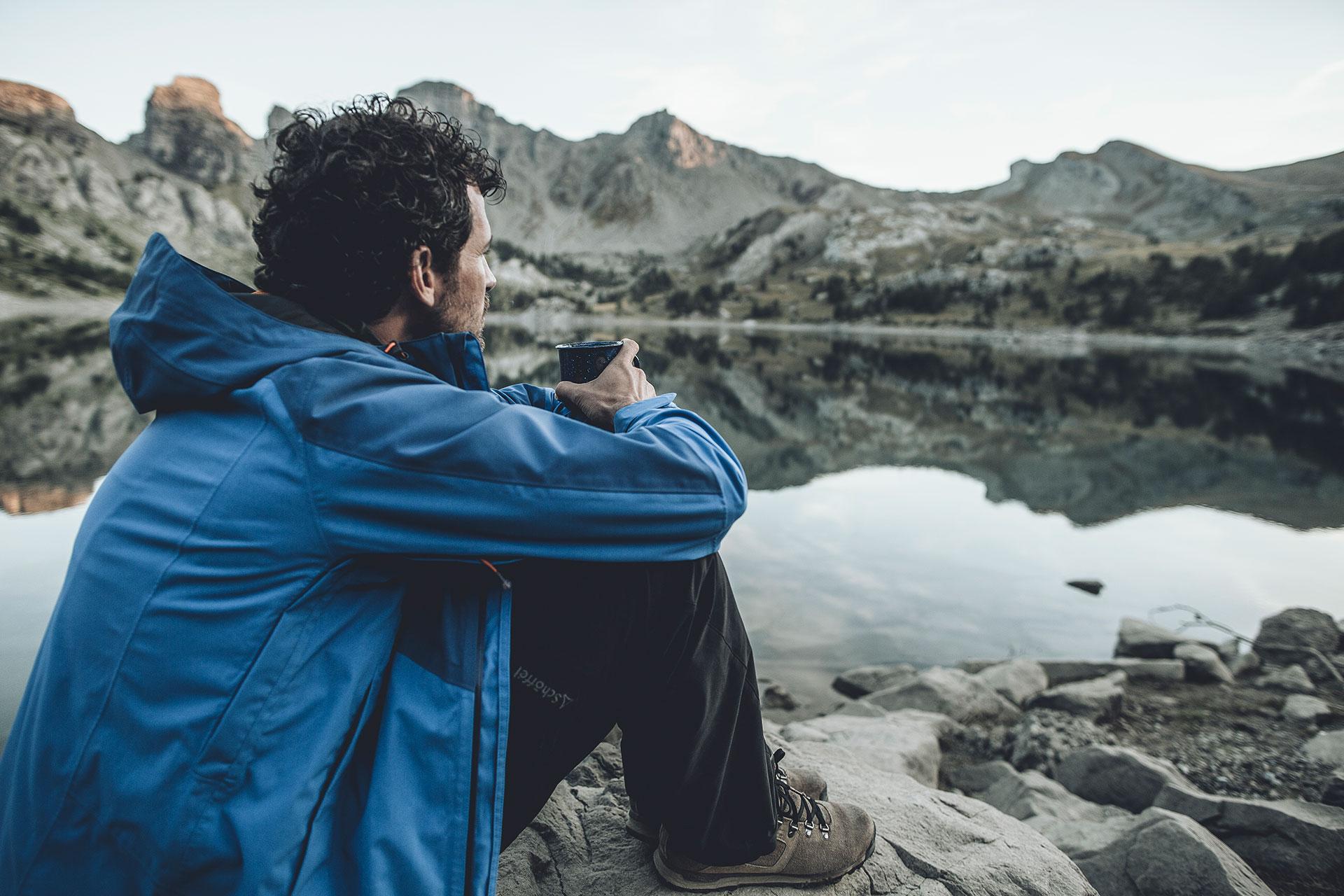 see pause wandern fotograf bergsteigen trekking deutschland muenchen