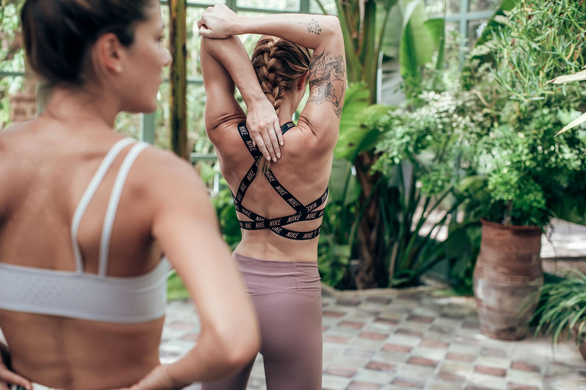 Yoga Sportfotograf Fotoproduktion Engelhorn Kampagne Schweiz
