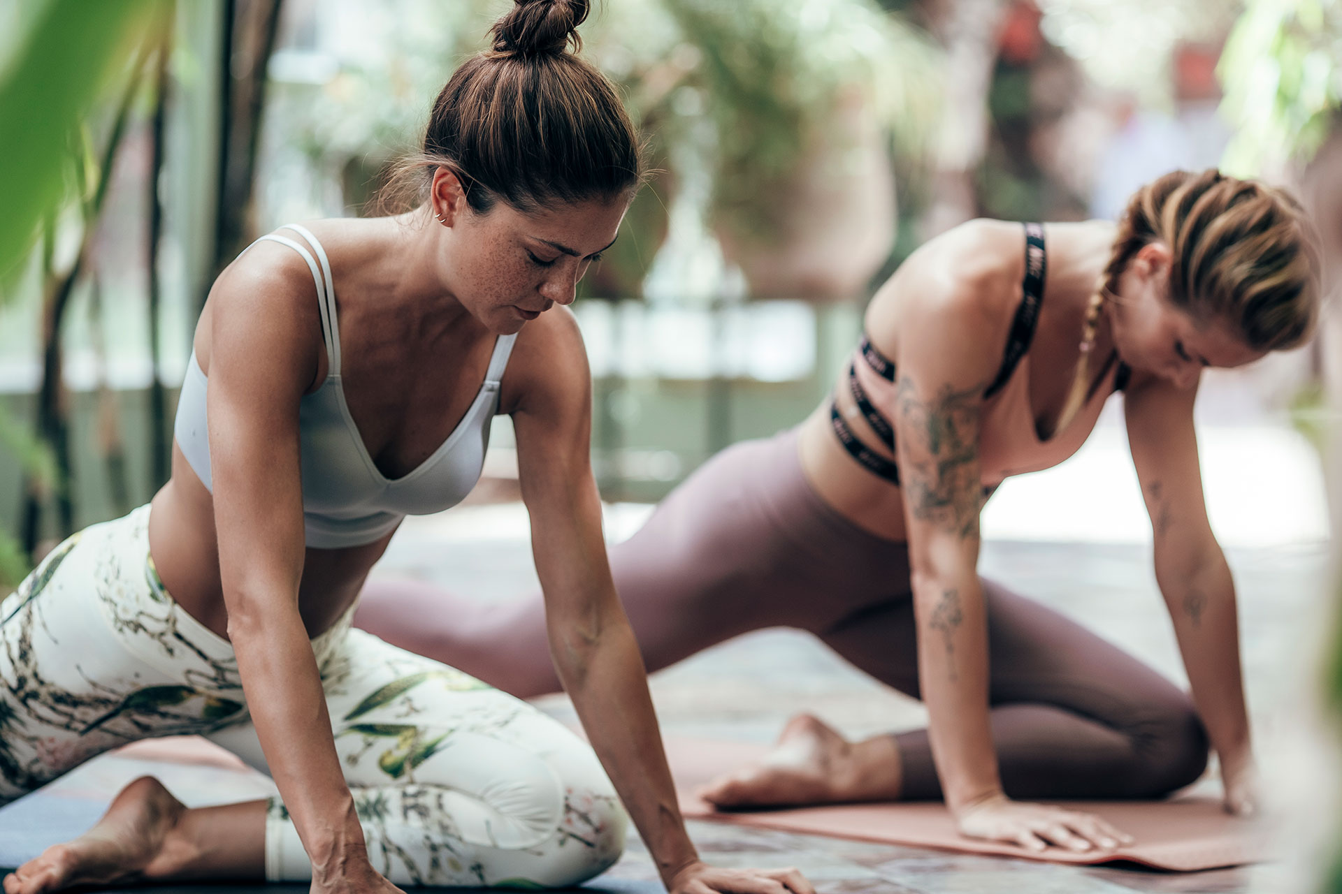 Fotograf Yoga Kampagne Engelhorn Marrakech Michael Müller