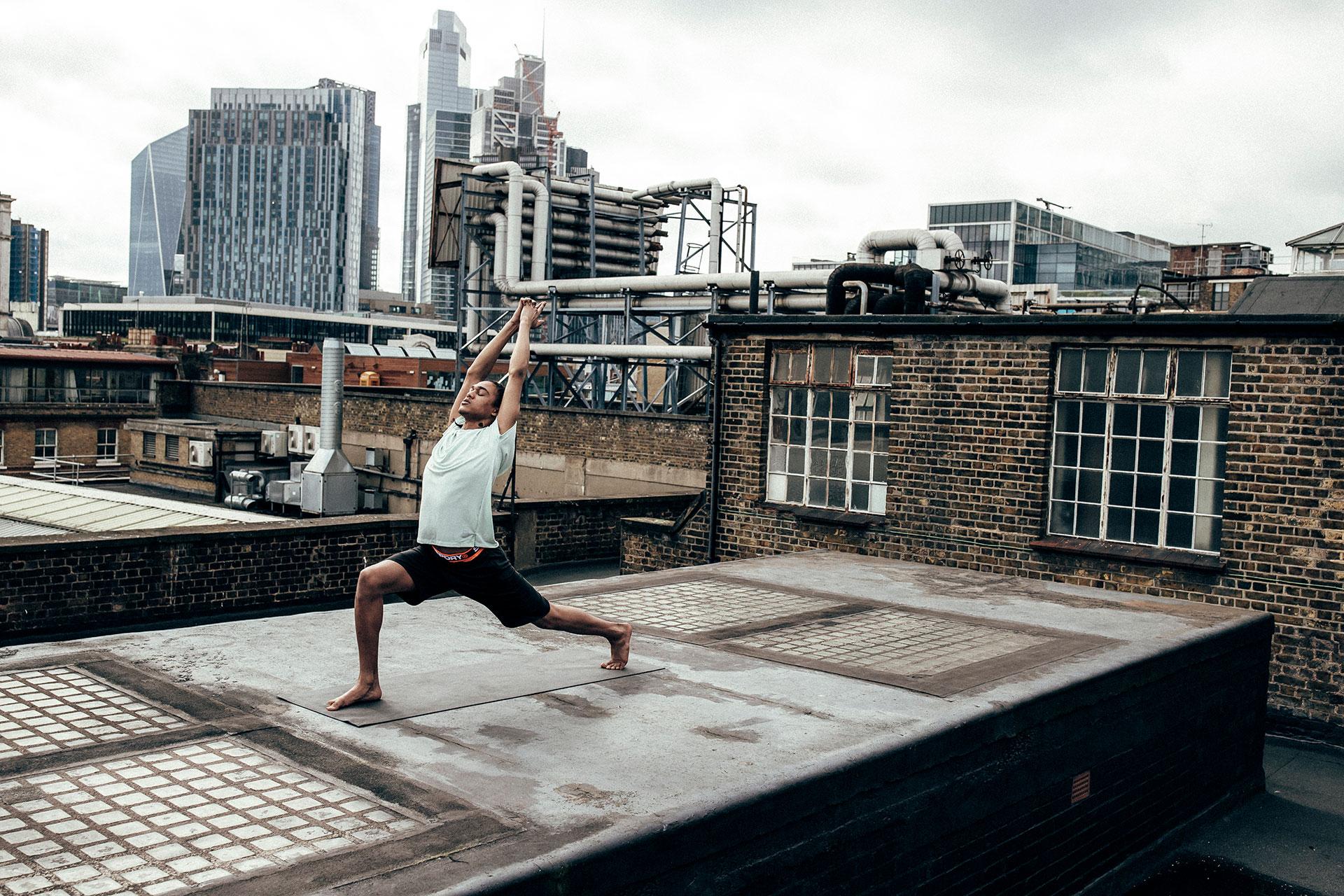 Yoga Sport Fotograf Michael Müller Lifestyle Superdry Kampagne München